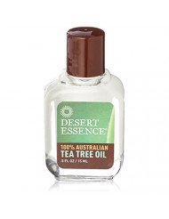 Desert Essence Tea Tree Oil 100% Pure Australian, 0.5 Oz