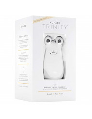 NuFACE Red Light Facial Toning Kit , Trinity Facial Toning Device & Red Light Wrinkle Reducer Attachment, Skin Care Device to Tone and Smooth Skin & Reduce Look of Wrinkles, FDA-Cleared At-Home System