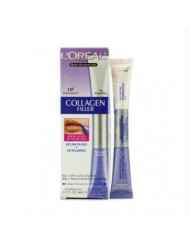 L'Oreal - Skin Expertise Collagen Filler Lip: Anti-Feathering Cream 6ml/0.2oz + Plumping Serum 6ml/0.2oz - 2x6ml/0.2oz