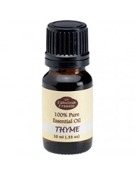 Thyme 100% Pure, Undiluted Essential Oil Therapeutic Grade - 10 ml. Great for Aromatherapy!