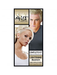 Splat Semi permanent Hair Color Kit inLightening Bleach