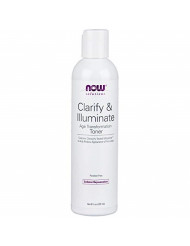 Now Solutions, Clarify and Illuminate Toner, Silky Skin Rejuvenating Formula with Mitostime for More Youthful Looking Skin, 8-Ounce