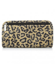 Travelon Jewelry and Cosmetic Clutch, Leopard, One Size