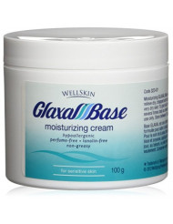 GLAXAL Base MOISTURIZING CREAM Relief for Dry, Chapped, Rough Skin 100 g (3.5 oz) by WellSkin