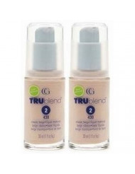Covergirl Trublend Liquid Make Up (2) #430 Classic Beige (Qty, Of 2 Bottles as Shown in Image)
