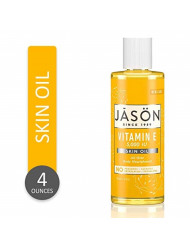 JASON Vitamin E 5,000 IU All Over Body Nourishment Oil, 4 Fl Oz (Packaging May Vary)
