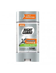 Right Guard Total Defense Anti-Perspirant Deodorant Power Gel Fresh Blast 4 oz (Pack of 4)