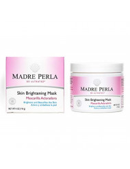 Madre Perla De Ultratez Skin Brightening Mask, No Hydroquinone, Parabens or Artificial Colors, Allergy-Tested, Made in USA 4 OZ