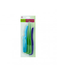 Bulk Buys Stylish Plastic Handle Comb Value Pack Pack Of 12