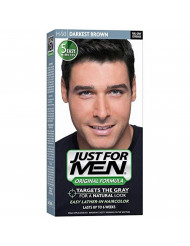 Just For Men Shampoo-In Haircolor Darkest Brown H-50