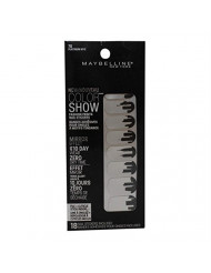 New Maybelline Color Show Fashion Prints Nail Stickers 70 Platinum NYC