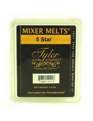 Tyler 5 STAR Fragrance Scented Wax Mixer Melts by Candles
