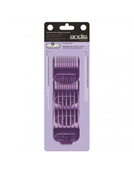 "Andis Andis Nano-silver Magnetic Attachment 5-combs, Small, Sizes 1/16"", 1/8"", 1/4"", 3/8"", 1/2"""