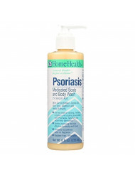 Home Health Psoriasis Medicated Scalp and Body Wash, 8 Ounce