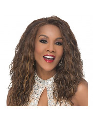 Vivica A. Fox ORLANDO-V Lace Front Wig, New Futura Synthetic Fiber in Color P42730