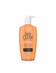 Neutrogena Deep Clean Daily Facial Cleanser with Beta Hydroxy Acid for Normal to Oily Skin, Alcohol-Free, Oil-Free & Non-Comedogenic, 6.7 fl. oz