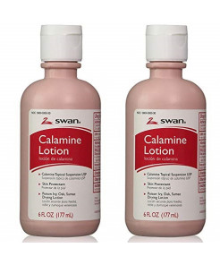 Swan Calamine Lotion - (2) 6 Oz. Bottles