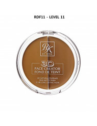 3D FACE CREATOR (RDF11) - Ruby Kisses HD 2 Color Foundation + Concealer
