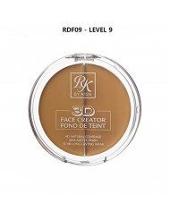 3D FACE CREATOR - Ruby Kisses HD 2 Color Foundation + Concealer