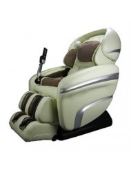 Osaki OS7200CRD Model OS-7200CR Deluxe Massage Chair, Cream, Zero Gravity, Computer Body Scan, Quad Roller Head Massage System, 48 Air Bag Massage, Auto Leg Scan