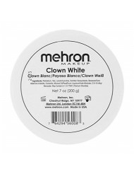 Mehron Makeup Clown White Professional Makeup (7 oz)