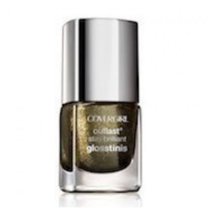 Covergirl Outlast Glosstinis Capitol Collection Nail Gloss 640 Black Heat