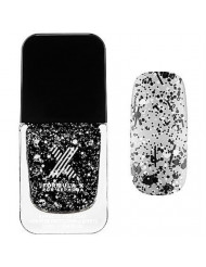 Xplosives Top Coats Formula X for Sephora 0.4 Oz Chaotic - Black and White Confetti
