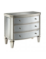 Stein World Furniture Carrigan Accent Chest, Antique Silver