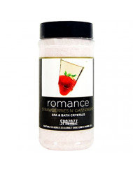 Spazazz SPZ-502 Set The Mood Crystals Container Bath Minerals, 17-Ounce, Strawberries N' Champagne Romance