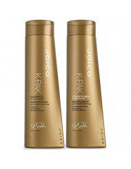 Joico K-PAK Daily Shampoo and Conditioner Set to Repair Damage, 10.1-Ounce