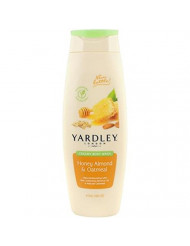 Yardley London Honey Almond & Oatmeal Creamy Body Wash, 16 ounce