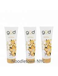 Gud Natural Vanilla Flame Body Lotion, 8 fz (Pack of 3)