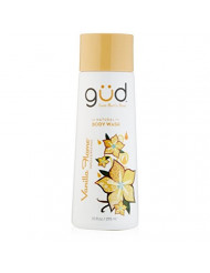 Gud Natural Vanilla Flame Body Wash, 10 fl.oz (Pack of 3)