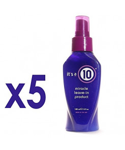 ITS A 10 by It's a 10 MIRACLE LEAVE IN PRODUCT 4 OZ ( Package Of 5 )