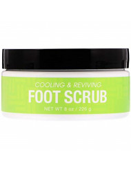 Deep Steep Natural Candy Mint Therapeutic Foot Scrub - 8 Ounce