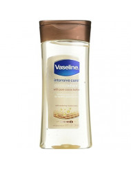 Vaseline Intensive Care Gel Cocoa Radiant Oil 6.8 Ounce (201ml) (3 Pack)
