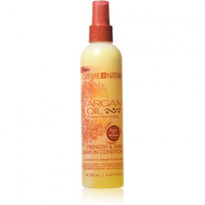 Creme Of Nature Argan Oil Conditioner Leave-In 8.45 Ounce (249ml) (3 Pack)