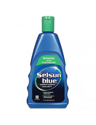 Selsun Blue Moisturizing with Aloe Dandruff Shampoo 11 oz (Pack of 3)