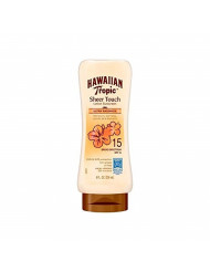 Hawaiian Tropic Sheer Touch Lotion Sunscreen, Ultra Radiance SPF 15, 8 oz (Pack of 3)