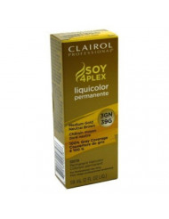 Clairol Professional Liquicolor Permanent 3Gn/39G Medium Gold Neutral Brown 2 Ounce (59ml) (3 Pack)