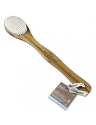 Clean Logic Bamboo Handle Bristle Bath Brush (3 Pack)