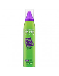 Garnier Fructis Style Curl Construct Creation Mousse Extra Strong Hold, 6.80 Ounces