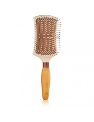EcoTools Cruelty Free and Eco Friendly Smooth Detangler Paddle Brush, Made with Recycled and Sustainable Materials
