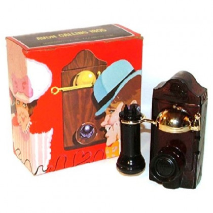 Vintage Avon Calling 1905 After Shave Wall Telephone Shaped Perfume Bottle