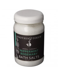 SOOTHING TOUCH Bath Salts Peppmnt Rosmary, 32 OZ
