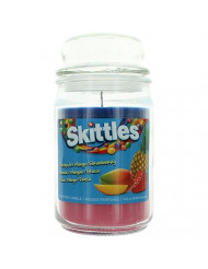 Tropical Scented Triple Poured Skittle Candle - 16oz Candle
