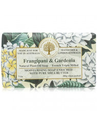 Wavertree & London Frangipani and Gardenia luxury soap (1 bar),7 oz