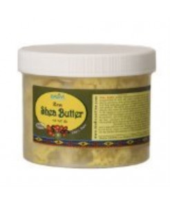 Raw Shea Butter 1 lb / 16 oz (Color: YELLOW) - Produced by Madina Industrial Corp.