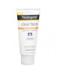 Neutrogena Clear Skin Sunscreen Lotion, SPF 55, 3 Ounce ( Pack Of 6 )