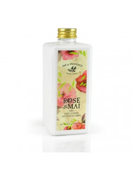 Pre de Provence Body Lotion to Soothe, Soften, and Hydrate with Shea Butter, Vitamin E, Olive Oil, Botanical Rose Blend Fragrance (10 fl oz) - Rose De Mai